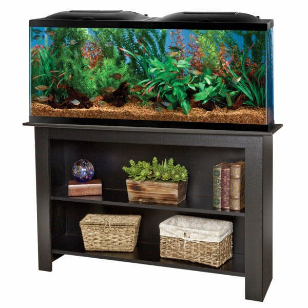 Marineland 55 Gallon Aquarium Complete with Stand.
